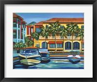 Tropical Rendezvous II Framed Print