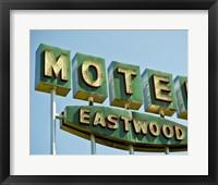 Framed Vintage Motel III
