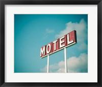 Framed Vintage Motel IV