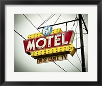 Framed Vintage Motel V