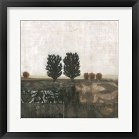 Global Landscape I Framed Print