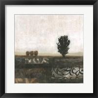 Global Landscape II Framed Print