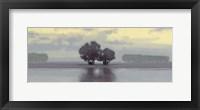 Lake Amethyst I Framed Print