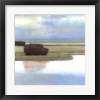 Crystal Bay II Framed Print