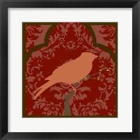 Moroccan Songbird I Framed Print