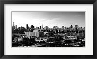 Panorama of NYC II Framed Print