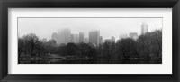 Panorama of NYC III Framed Print