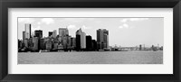 Panorama of NYC IV Framed Print