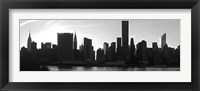 Panorama of NYC VI Framed Print