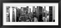 Panorama of NYC VII Framed Print