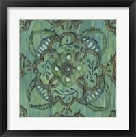 Aquarian Rosette II Framed Print