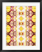 Watercolor Quilt VI Framed Print
