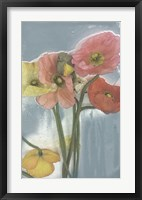 Poppy Spray II Framed Print