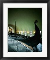Framed Oseberg Ship Viking Ship Museum Oslo Norway