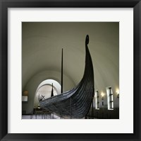 Framed 9th Century Viking Ships Oslo, Norway