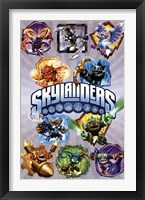 Framed Skylanders Core - Grid