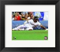 Framed Andrew McCutchen 2014 on the field