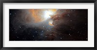 Framed Part of the M42 nebula in Orion