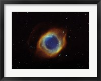 Framed Helix nebula in Aquarius (NGC 7293)