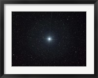 Framed bright star Altair in the constellation Aquila