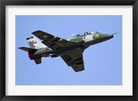 Framed Serbian Air Force Soko G-4 Super Galeb