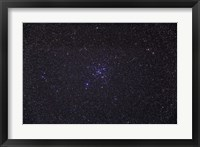 Framed Messier 41 below the bright star of Sirius in the constellation Canis Major