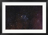 Framed Messier 6, the Butterfly Cluster