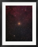 Framed Mu Cephei, a red supergiant in the constellation Cepheus