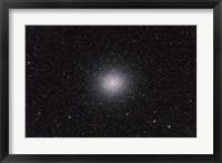 Framed Omega Centauri globular cluster