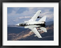 Framed Tornado GR4 of the Royal Air Force