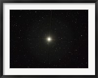 Framed Pollux is an orange giant star in the constellation of Gemini