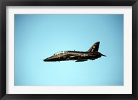 Framed BAE Hawk aircraft of the Royal Air Force