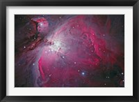 Framed Messier 42, The Orion Nebula