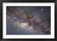 Framed center of the Milky Way through Sagittarius and Scorpius