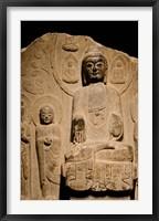 Framed Buddha statue c. 550-577 AD, Shanghai, China