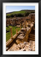 Framed Ancient Architecture, Roman Brothels, Dougga, Tunisia