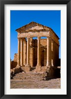 Framed Ancient Architecture, Sufetul, Sbeitla, Tunisia