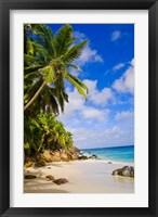 Framed Anse Victorin Beach, Fregate Island, Seychelles
