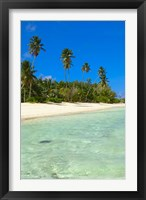 Framed Beach, Desroches Resort, Desroches Island, Seychelles