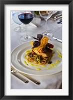 Framed Cuisine, Fregate Island Resort, Seychelles