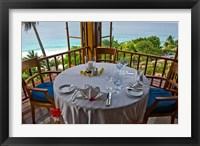 Framed Fregate Island Resort, Seychelles