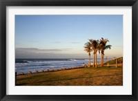 Framed Ansteys Beach, Durban, South Africa