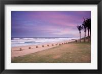 Framed Beaches at Ansteys Beach, Durban, South Africa