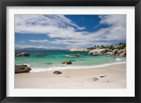 Framed Cape Town, South Africa. The Cape Peninsula