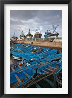 Framed Fishing boats, Essaouira, Morocco