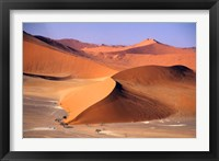 Framed Aerial Scenic, Sossuvlei Dunes, Namibia