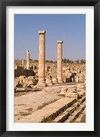 Framed Ancient Architecture, Sabratha Roman site, Libya