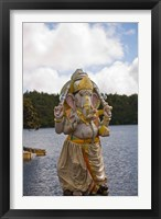 Framed Hindu Shivaratri temple, Mauritius