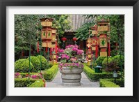 Framed Bai Family Imperial style restaurant, Beijing, China