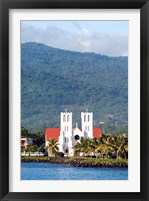 Framed Catholic Church, Apia, Upolo Island, Western Samoa